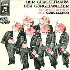 """ALCOL RETTORE CON CORO GURGEL - IL SOGNO DI GOLA / GURGEL WALTZ 7"""" SINGLE (C548)"""
