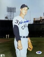 Hoyt Wilhelm White Sox Psa/dna Signed 8x10 Photo Certed Autograph Authentic