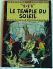 ALBUM DE TINTIN LE TEMPLE DU SOLEIL édition souple