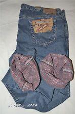 Jeans uomo termico taglia 52 pantalone CARRERA foderato con tela felpata calda