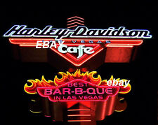 CLOSED Las Vegas HARLEY DAVIDSON Cafe NEON SIGN PHOTO 8x10