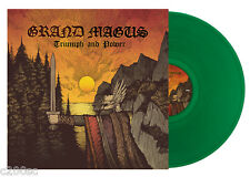 GRAND MAGUS - TRIUMPH AND POWER, 2014 GERMAN GREEN vinyl LP, 275 COPIES! SEALED!