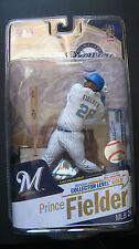 Prince Fielder Auto Chase Variant McFarlane Series 26 Gold Level only 400 Made