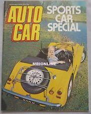 Autocar magazine 3/4/1976 featuring TVR 1600M road test, Lamborghini Urraco
