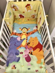 Completo Piumone e Paracolpi Lettino Disney Winnie The Pooh