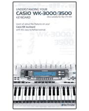 DVD Casio Video Manual WK3000 / WK3500 / CKT691
