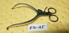Pilling 16 5441 Surgical Obgyn Gelpi Retractor With Ball Stops Amp Grip Lock