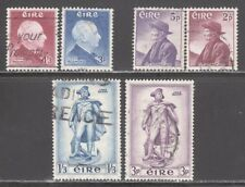IRELAND STAMPS #155-160  --  (3) COMPLETE SETS -- 1956 -- USED