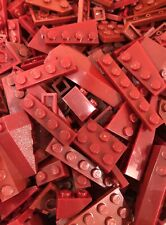Lego Dark Red 200+ Pc Building Lot Star Wars City Potter Ninjago Minecraft LOTR