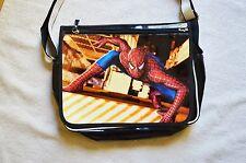 GRANDE Spiderman Borsa Messenger A Tracolla Unisex College Scuola Lavoro