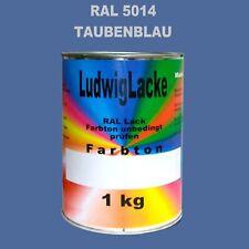 Bleu Pigeon 1 KG Peinture Qualité Professionnelle Ral 5014 Brillant