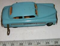 Rare JNF SUPER RARE U.S. Zone Germany Tin Wind-up Car w/Adjustable Controls NICE
