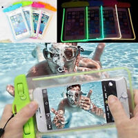 Underwater Waterproof Phone Pouch Bag Cover Case For iPhone Samsung Cell Phone H