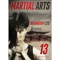 Martial Arts Collection: 13 Movies DVD Box Set Chuck Norris, Keanu Reeves