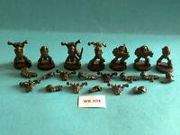 Warhammer 40K - Chaos Space Marine Death Guard x7 - Metal WK354
