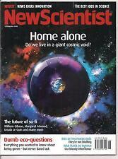 NewScientist-15 nov 2008-HOME ALONE.