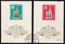 5133 - Poland 1955 - Town Hall in Poznan - Used Souvenir Sheet