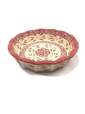 New ListingTemptation By Tara Old World Red Cranberry 9� Pie Dish Pan With Lid