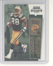 Bubba Franks auto card 2000 Playoff Contenders Rookie Ticket #111 RC NM Packers