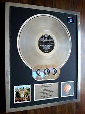 THE BEATLES SGT. PEPPER'S LP MULTI PLATINUM DISC RECORD AWARD ALBUM