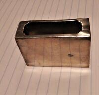 Vintage Chinese c.1930's Sterling Silver .950 Match Box Holder or vesta case