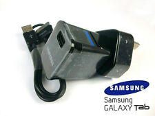 """SAMSUNG WALL MAINS CHARGER USB CABLE FOR 7.0 8.9 10.1 """" GALAXY TAB 2 TABLET NOTE"""