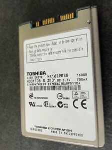 Toshiba, 1.8 Zoll, 160 GB HDD, MK1629GSG