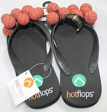 Hotflops Basketball Flip Flops Beach Sandals Slip On Thong size 8-9