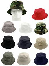 Mens Womens Fishing Hiking Boonie Snap Brim Military Bucket Hat Sun Cap Outdoor