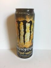 Monster Energy Drink Rehab Lemonade 23oz Full Can. Rare Discontinued Can