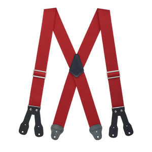 Logger Suspenders - BUTTON (4 sizes, 5 colors)