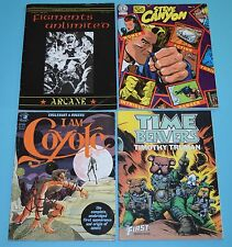 Lot of 4 Graphic Novels - Time Beavers, I Am Coyote, Steve Canyon 1982-1985