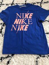 Nike Boys Tshirt Logo Size 8-10 Vgc
