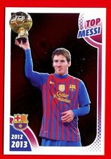 FC BARCELONA 2012-2013 Panini - Figurina-Sticker n. 166 - TOP MESSI -New