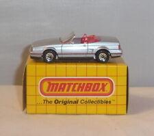 MJ7 Matchbox -  Yellow Box - MB72 Cadillac Allante - Silver