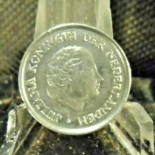 CIRCULATED 1980 25 CENTS NETHERLANDS COIN (20319).....FREE DOMESTIC SHIPPING!!!