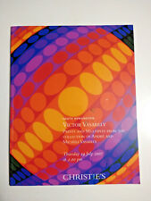 Christie's Victor Vasarely Collection of Andre & Michele Vasarely 19 July 2007