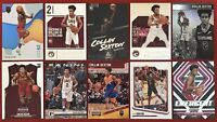 COLLIN SEXTON 10x ROOKIE Lot: 2018-19 Panini Chronicles, Status, Threads & Prizm