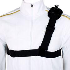 Shoulder Chest Strap Mount Harness Belt For GoPro Hero 3 3+ 4 Session CA ht