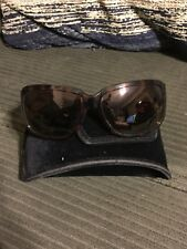 WOMENS AUTHENTIC MARC BY MARC JACOBS MMJ083 SUNGLASSES TORTOISE GOLD DETAIL