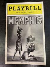 MEMPHIS June 2011 Broadway Playbill! MONTEGO GLOVER James Monroe Iglehart +!