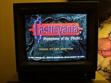 """Sony PVM-14N1U 14"""" Color CRT Monitor*TESTED* *WORKS GREAT*"""
