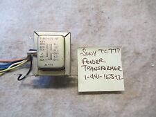 Sony Tc-777 Power Transformer