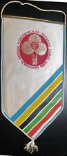 WORLD SAMBO WRESTLING CHAMPIONSHIP 83 KIEV USSR LARGE GIANT PENNANT OLD 42X22CM