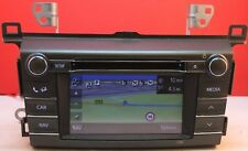 TOYOTA RAV 4 SAT NAV unità CD DAB BLUETOOTH RADIO STEREO TOUCHSCREEN 86140-42100