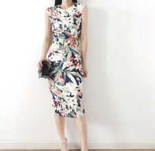 AUTH Ted Baker Floral Print Bodycon Dress, 0-5