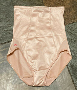 Ruby Ribbon XL Champagne High Waisted Girdle Shaping Brief  NWOT #3015
