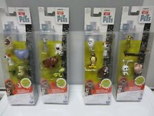 4 Packages The Secret Life of Pets - Mini Pets- 4 Packs - New