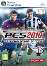 Pro Evolution soccer 2010. PC Game - Konami