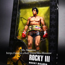 "NECA Rocky Black Trunks with Belt - 40th Anniversary 7"" Action Figure 2016 New"